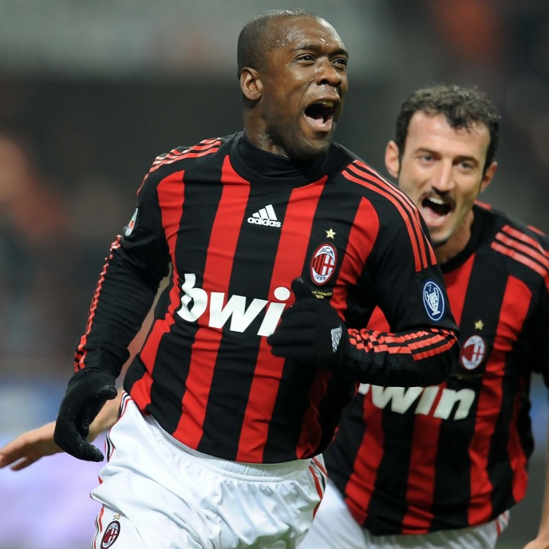 Seedorf's Match-Issued/Worn Milan Shirt, 2008/09 Serie A