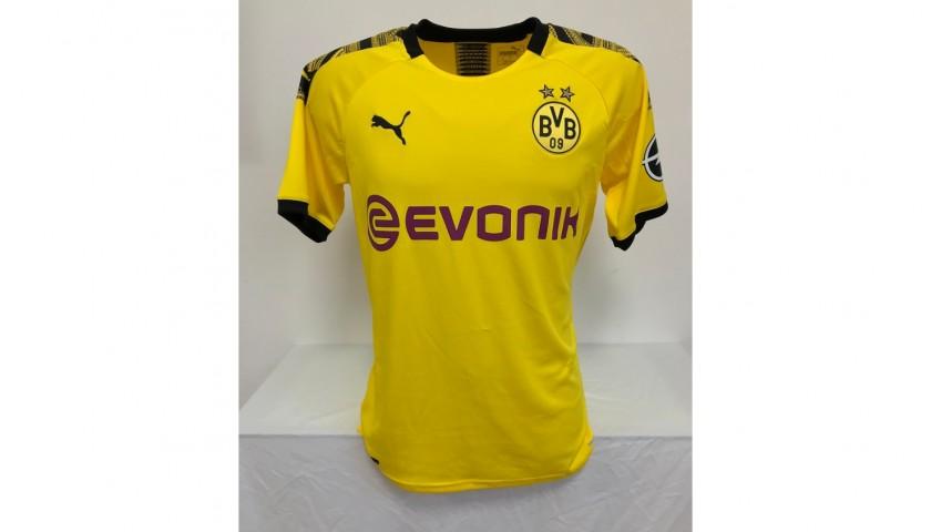 Haland S Official Borussia Dortmund Signed Shirt 2019 20 Charitystars
