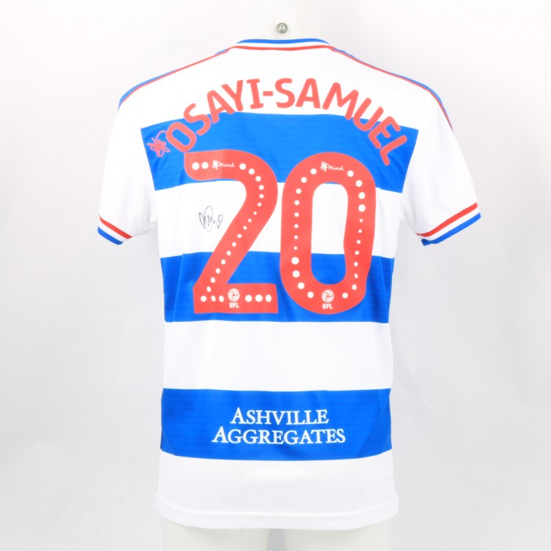 03fc7024b Osayi-Samuel s Queens Park Rangers Match-Issued Signed Poppy Shirt