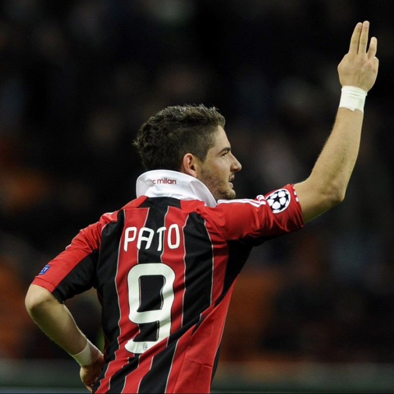 Pato's Milan Match-Issue Serie A 2011/12 Shirt