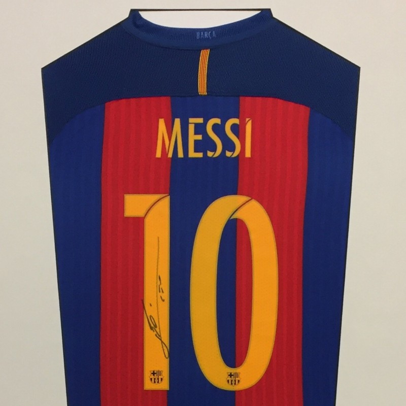 Lionel Messi Signed Shirt