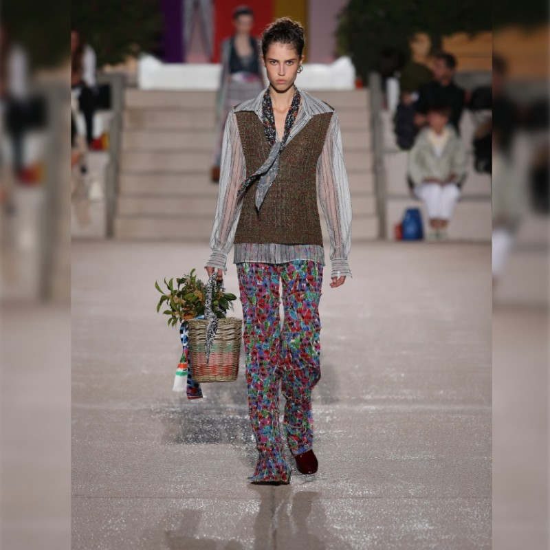 Two Invites to the Missoni Show F/W 20/21 + Total Look
