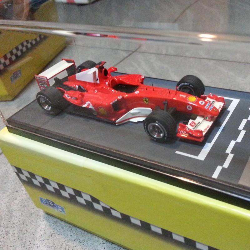 1:43 BBR - Ferrari F2004, Hungaroring, Hungarian GP M.Schumacher Winner, limited series with certificate