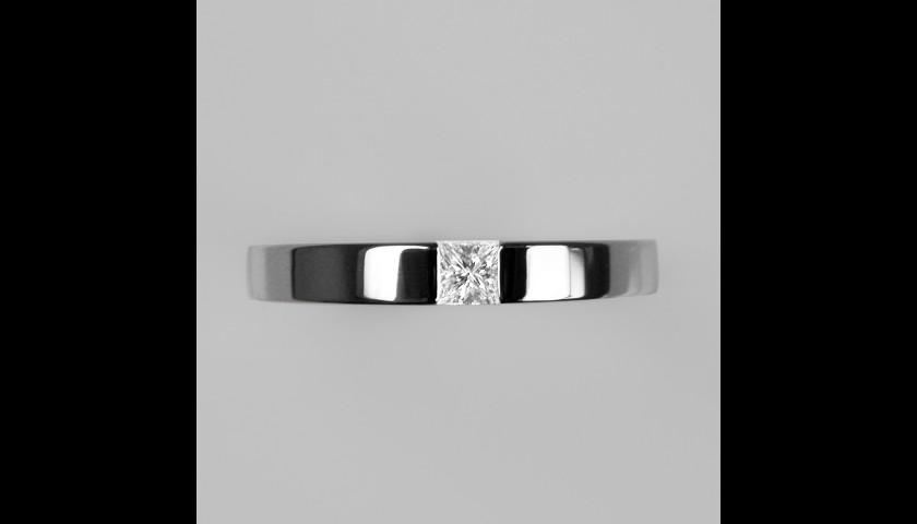 Limited Edition Stephen Einhorn Times Square 3 Platinum & Diamond Ring