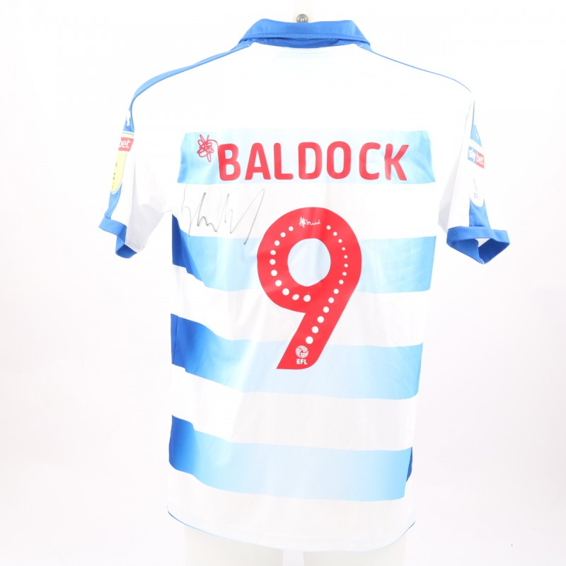Baldock's Match-Worn Reading FC Signed Poppy Home Shirt