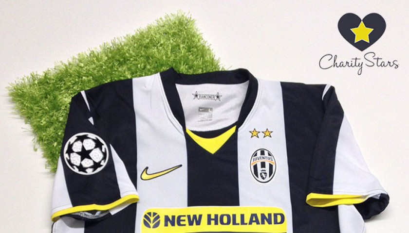 finest selection d680b dd1b8 Alessandro Del Piero issued Juventus 2008/2009 shirt for UEFA Champions  League - CharityStars
