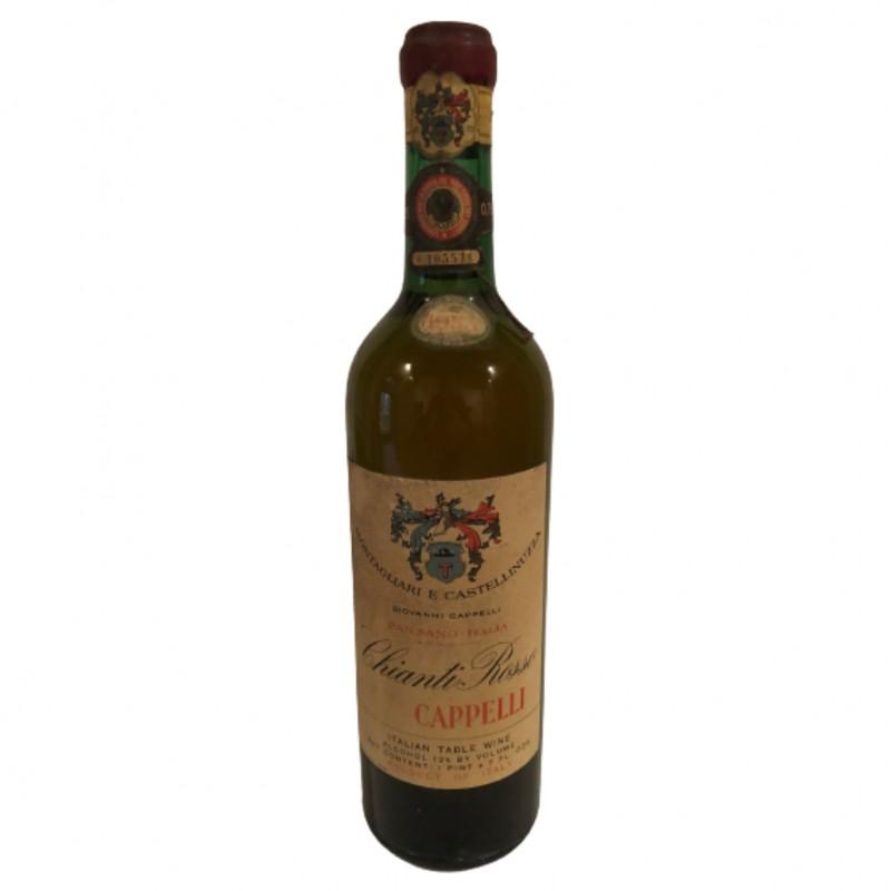 Bottle of Chianti Rosso, 1953 - Giovanni Cappelli