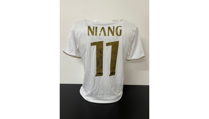 Niang's Official Milan Signed Shirt, 2016/17