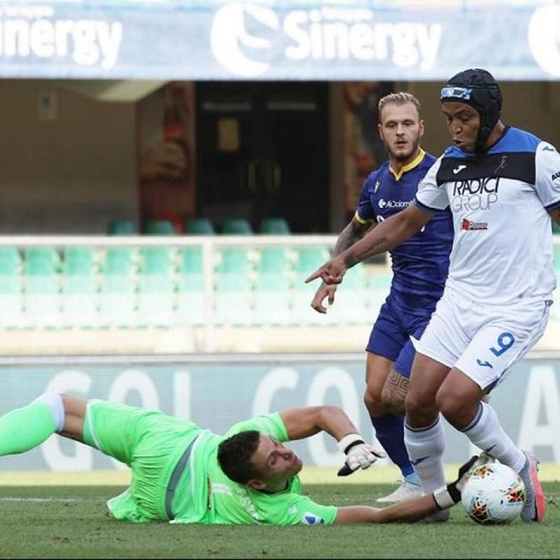 Silvestri's Match-Issued Shirt, Hellas Verona-Atalanta 2020