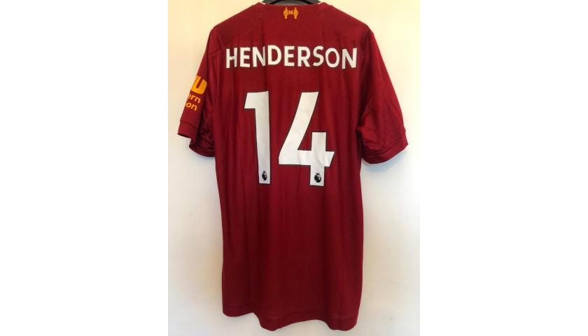 """Henderson's Liverpool Match Shirt, 2019/20 - """"Black Lives Matter"""""""