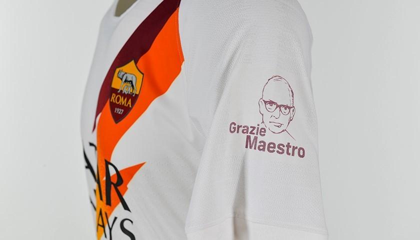"Mancini's Worn Shirt, Roma-Parma - ""Grazie Maestro"""