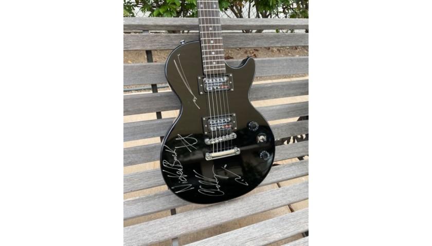 Nickelback Autographed Epiphone Guitar