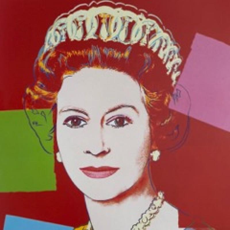 """Queen Elizabeth II"" by Andy Warhol"