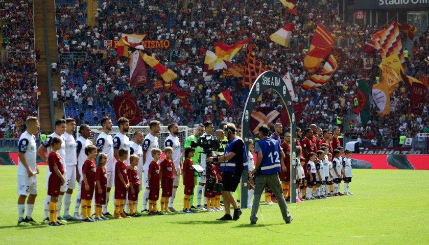 Be a Mascot for the Empoli-AS Roma Match