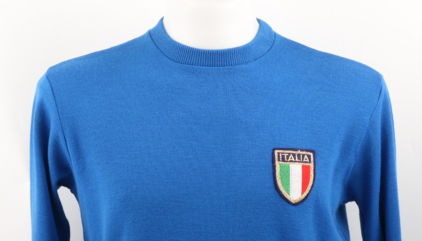 Fulvio Collovati Match Worn Shirt, Italy-Holland 24/02/1979