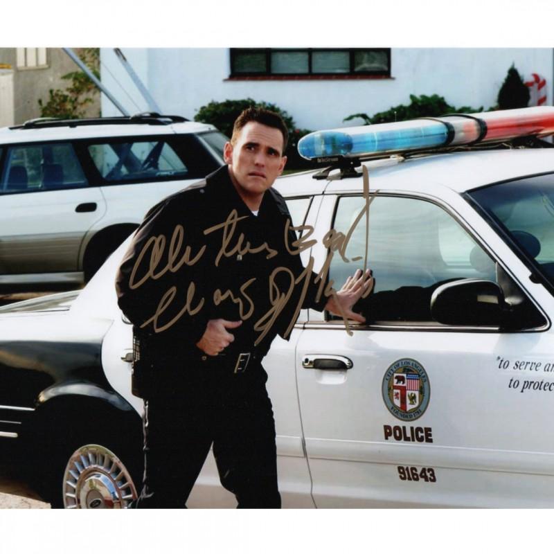 Crash - Matt Dillon Signed Photograph