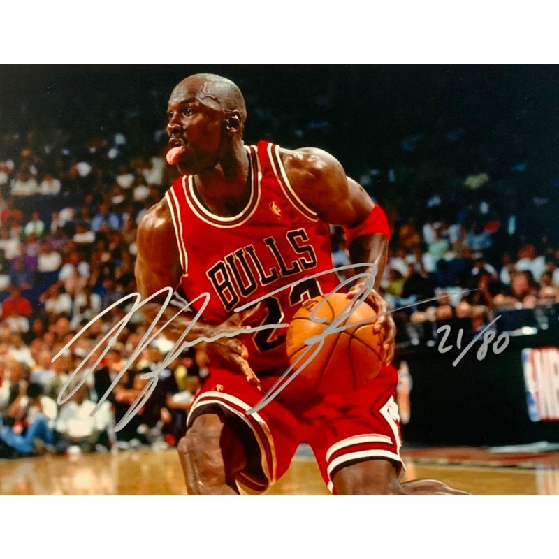 Photograph Signed by Michael Jordan