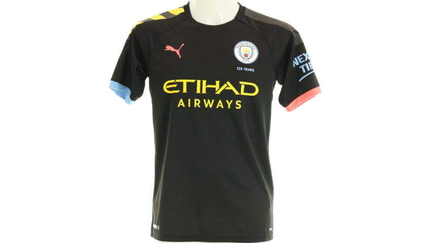 Sterling Signed Official 2019/20 Manchester City Away Shirt