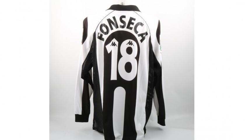 buy popular 26d96 c0e77 Fonseca's Juventus Serie A 1997/98 Match-Worn Shirt - CharityStars