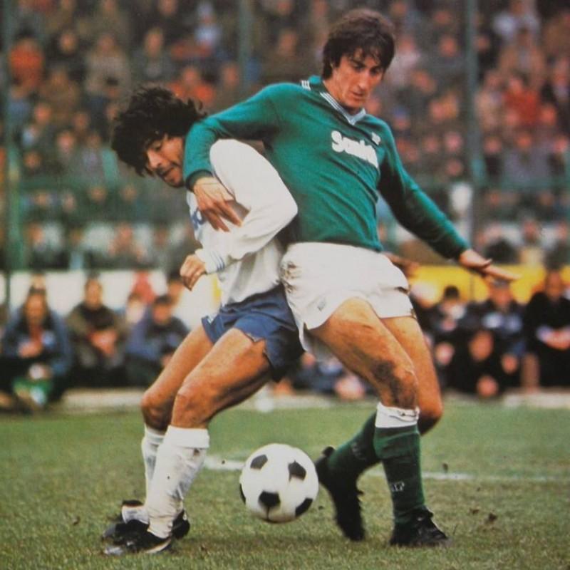 De Napoli's Match-Worn 1985/86 Avellino Shirt