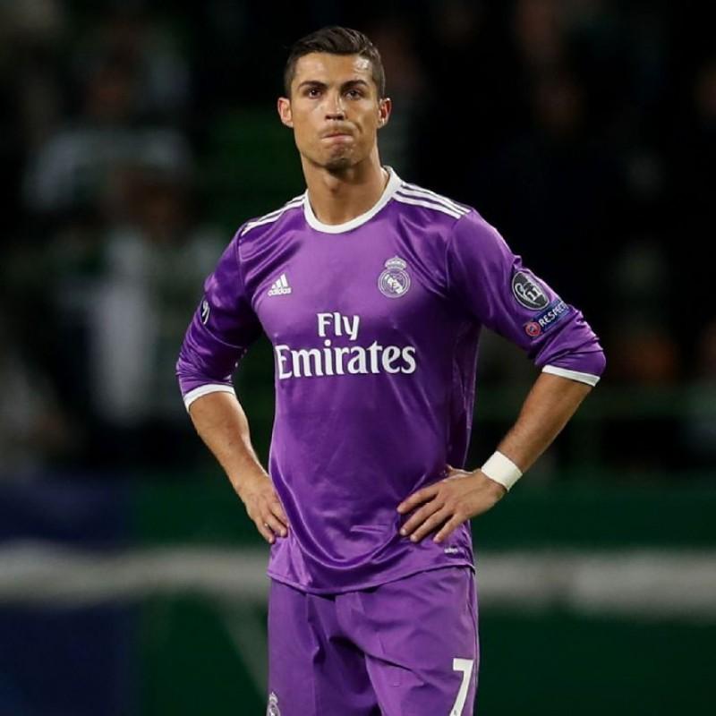 Ronaldo's Match Shirt, Sporting CP -Real Madrid 2016