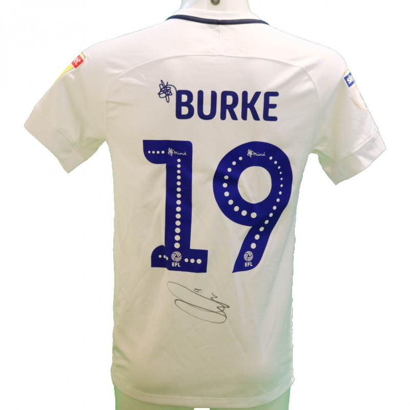 Burke's Preston Issued and Signed Poppy Shirt