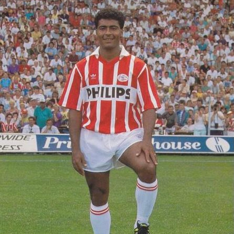 Romario's PSV Match Shirt, 1990/91