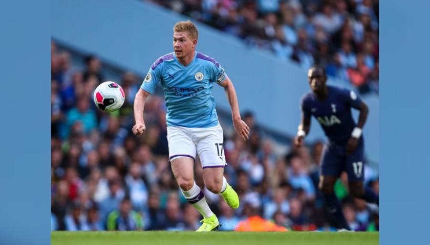 De Bruyne's Official Manchester City Signed Shirt, 2019/20