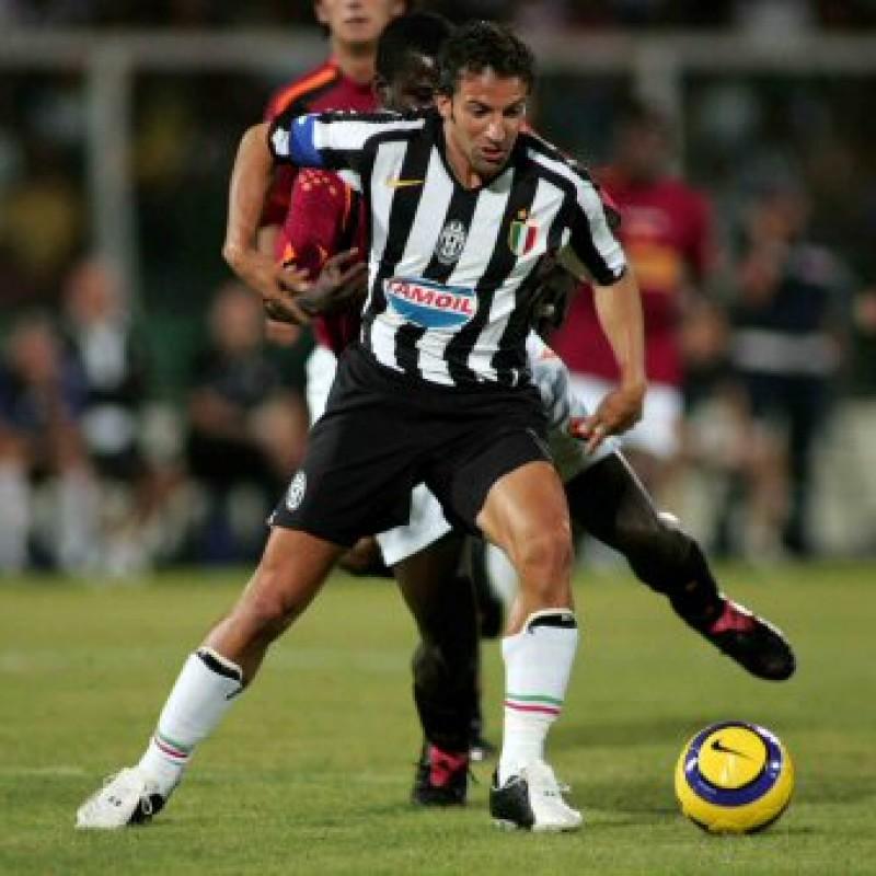 Del Piero's Signed Match Shirt, Roma-Juventus 2005