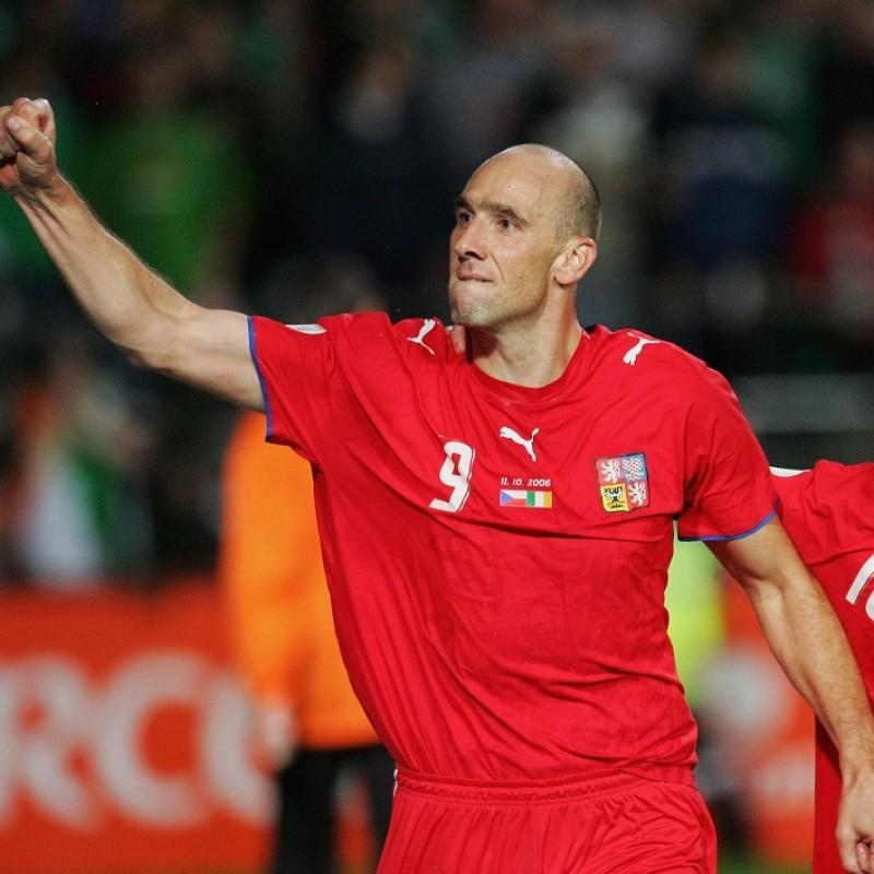 Koller's Official Czech Republic Signed Shirt, 2006