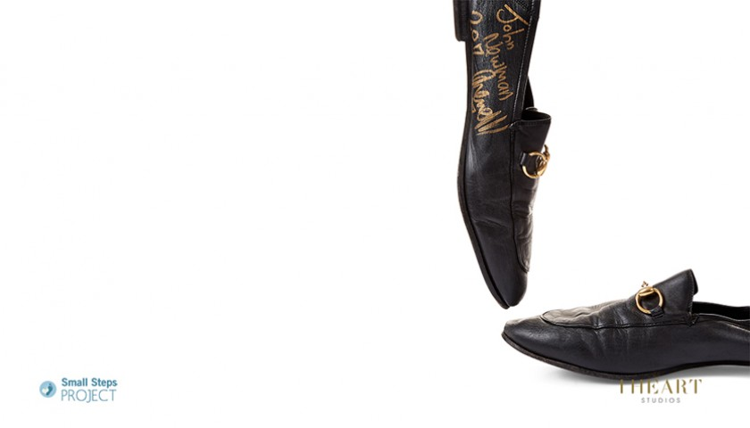 John Newman Signed Shoes