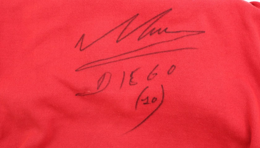 Maglia gara Maradona Napoli, 1987/88 - Autografata