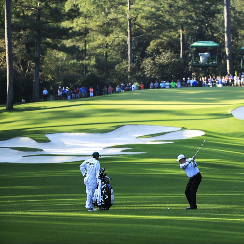 Assisti al Masters di golf di Augusta, USA