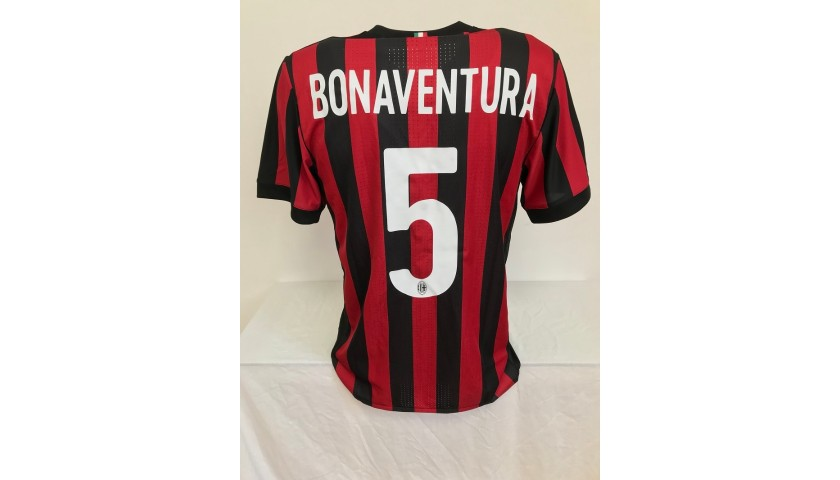 Bonaventura's Milan Match Shirt, TIM Cup 2017/18