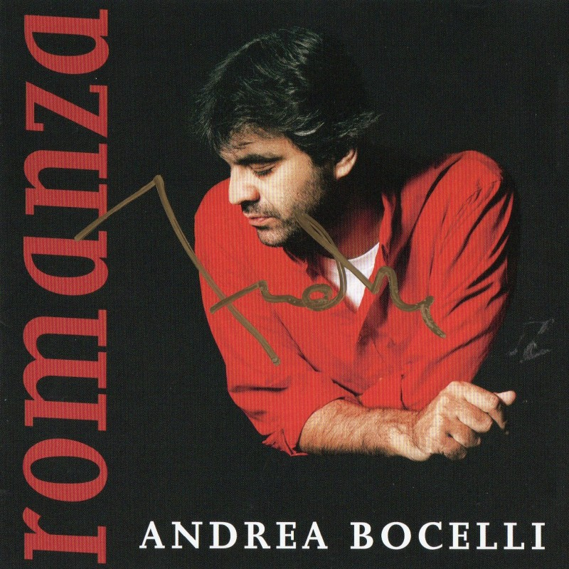 """Romanza"" Album - Signed by Andrea Bocelli"