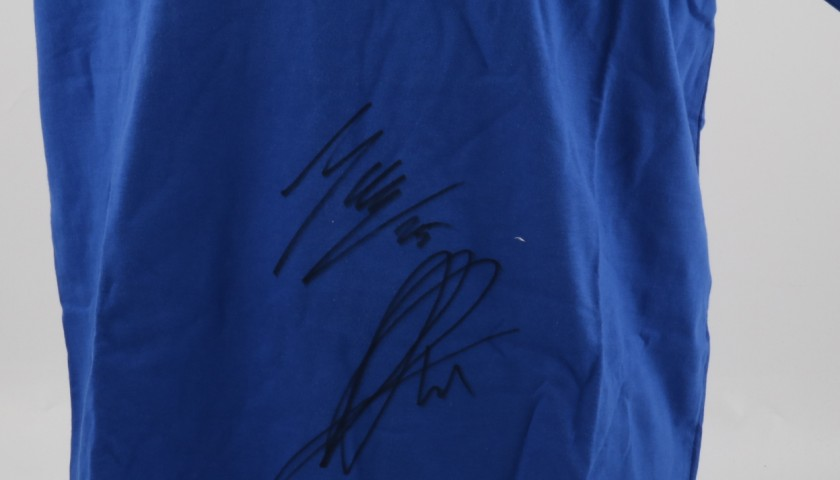 Official Team Suzuki Ecstat T-Shirt signed by Maverick Vinales #25 and Aleix Espargaró #41