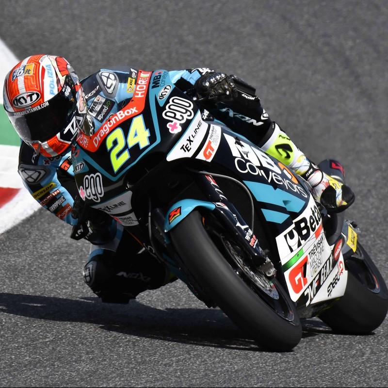 Simone Corsi's Signed Race Slider from Misano