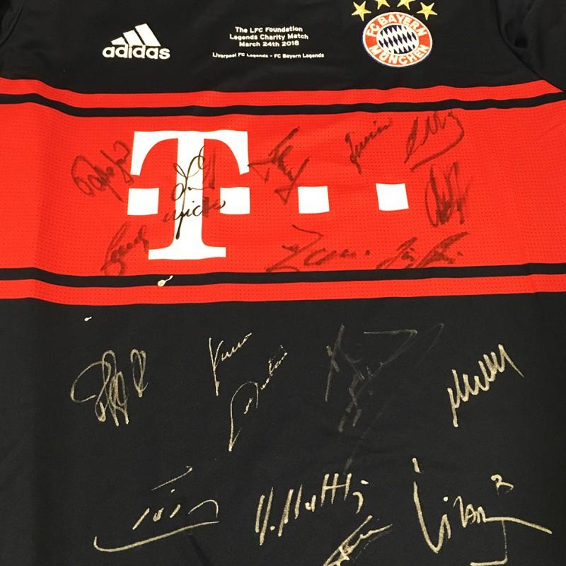 e1f3926ec Bayern Munich Legends Signed Shirt from LFC Legends Match 2018