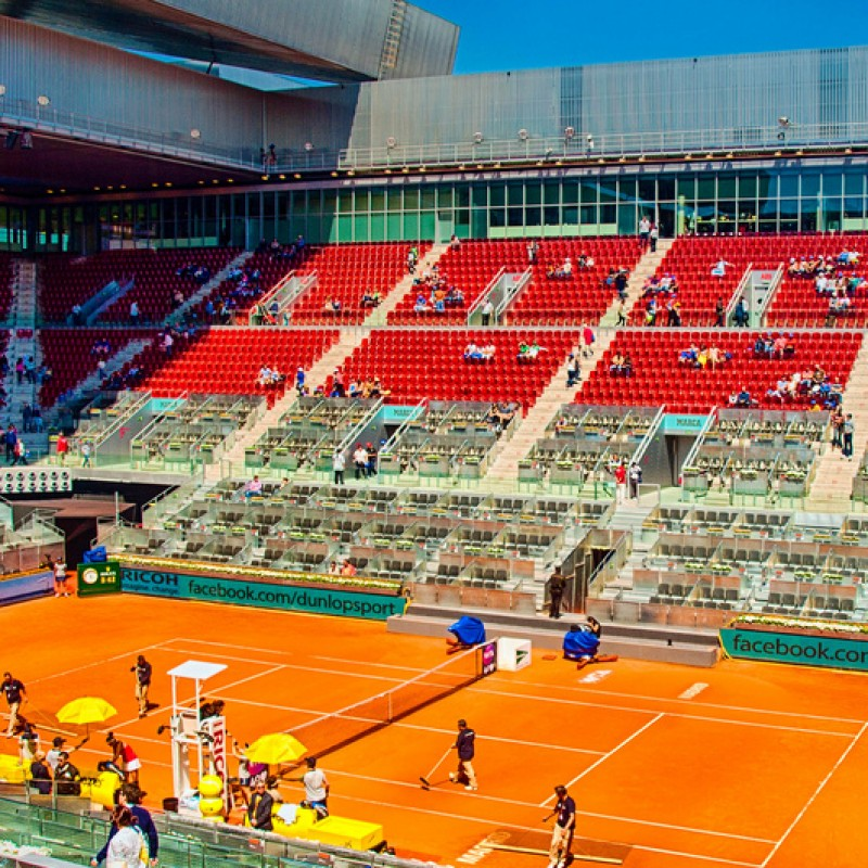 2 Tickets for the Center court Mutua Madrid Open May 4th 2016