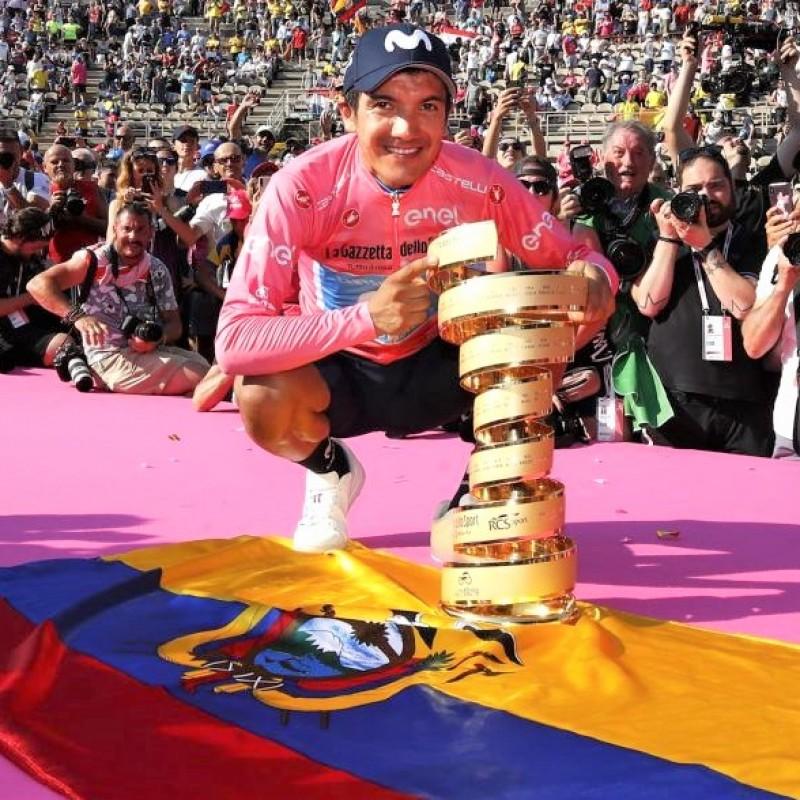 """Giro d'Italia 2019 """"Il Garibaldi"""" Book Signed by Carapaz"""