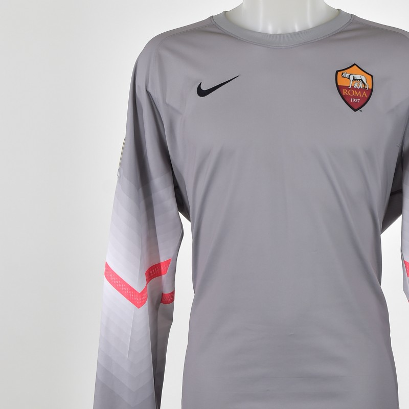 De Sanctis AS Roma match worn shirt