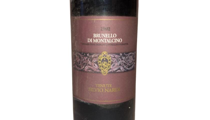 Bottle of Brunello di Montalcino, 1992 - Tenuta Silvio Nardi