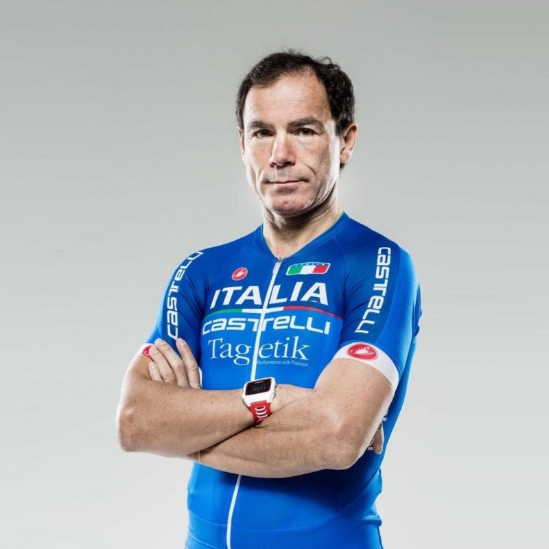 A bike ride with Cyclist Davide Cassani