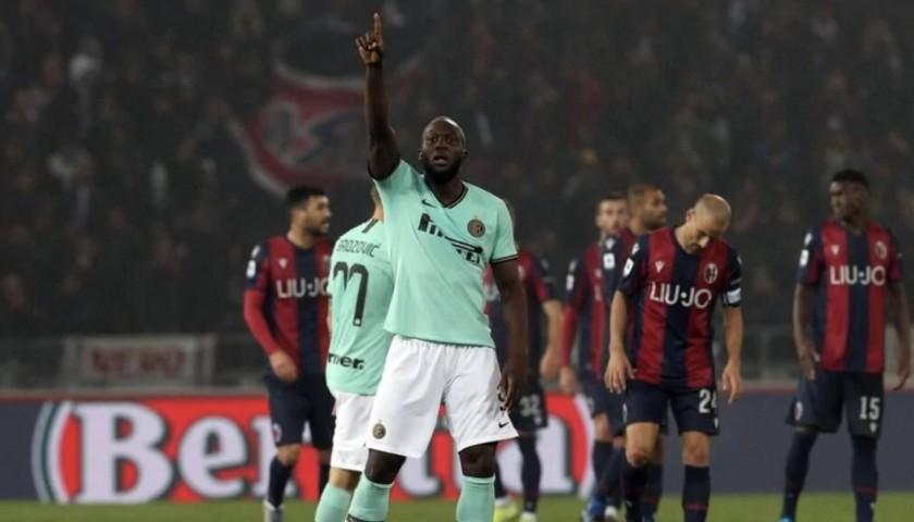 Lukaku's Official Inter Signed Shirt, 2019/20