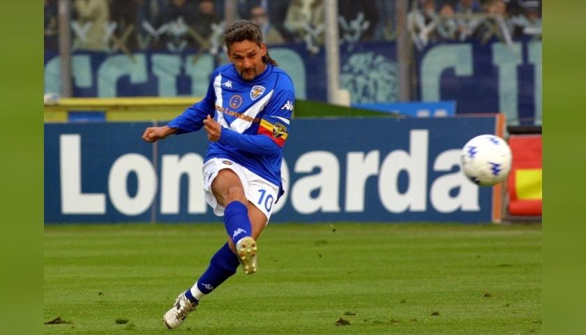 Baggio's Official Brescia Signed Shirt, 2003/04