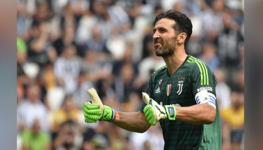Buffon s Official 2018 19 Juventus Signed Shirt - CharityStars 9161cbe37fb6