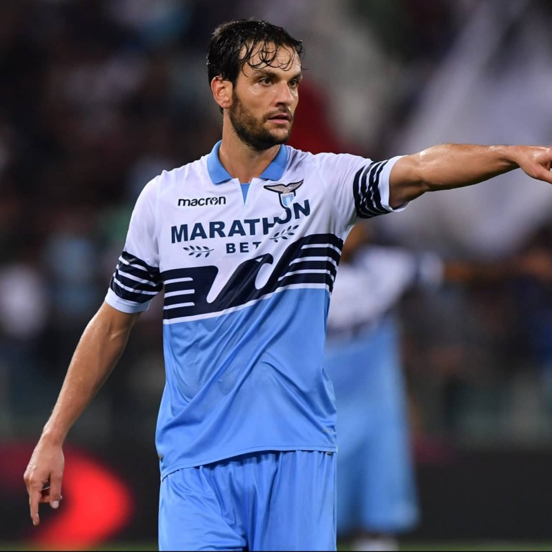 Parolo's Lazio Signed Match Shirt, Serie A 2018/19