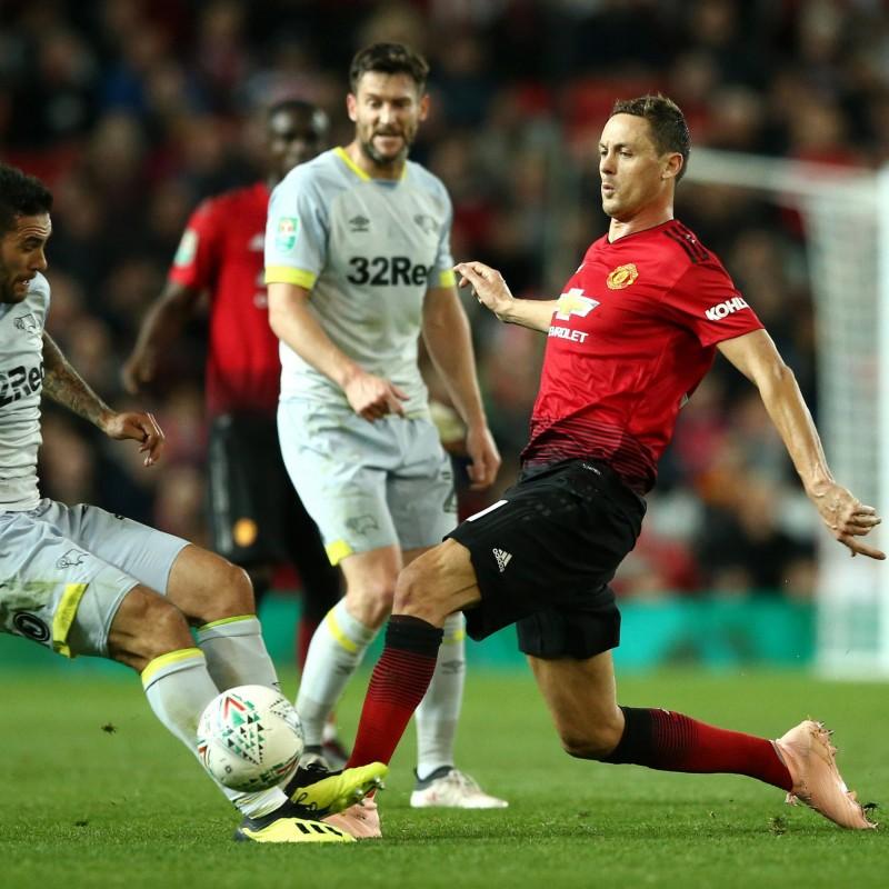 Matic's Match Shirt, Man Utd-Derby County 2018