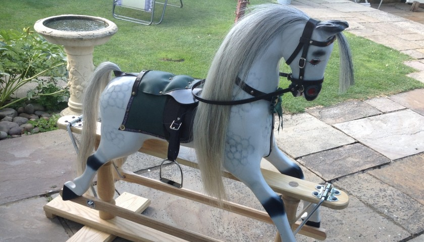 Handmade Rocking Horse by Peter Boucher