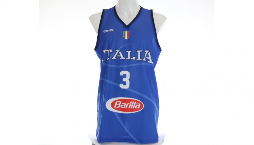 Belinelli's Official Italy Signed Vest, 2019